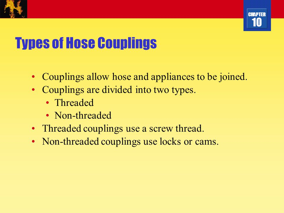 Types of Hose Couplings