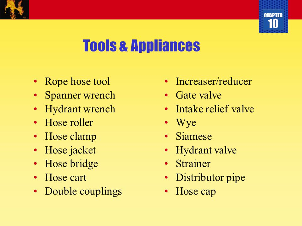 Tools & Appliances Rope hose tool Spanner wrench Hydrant wrench