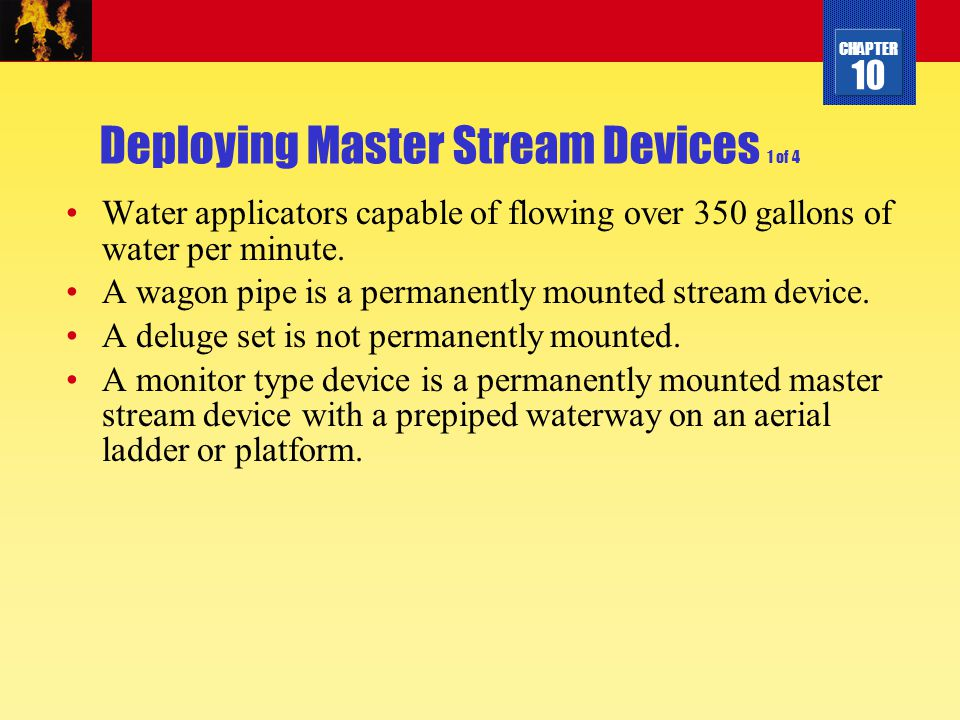 Deploying Master Stream Devices 1 of 4