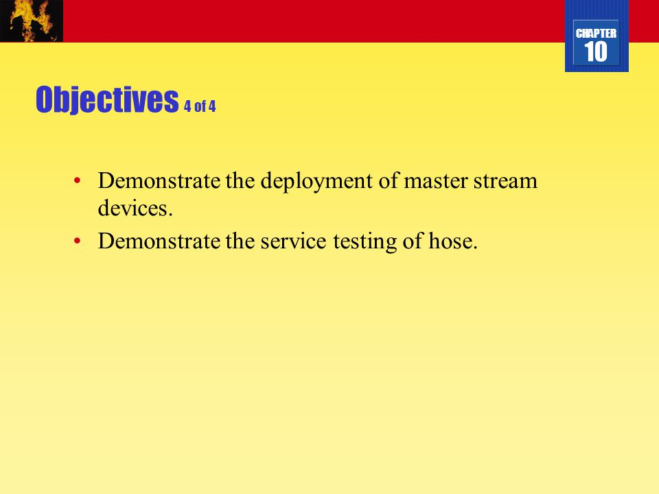 Objectives 4 of 4 Demonstrate the deployment of master stream devices.