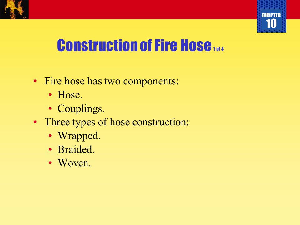 Construction of Fire Hose 1 of 4