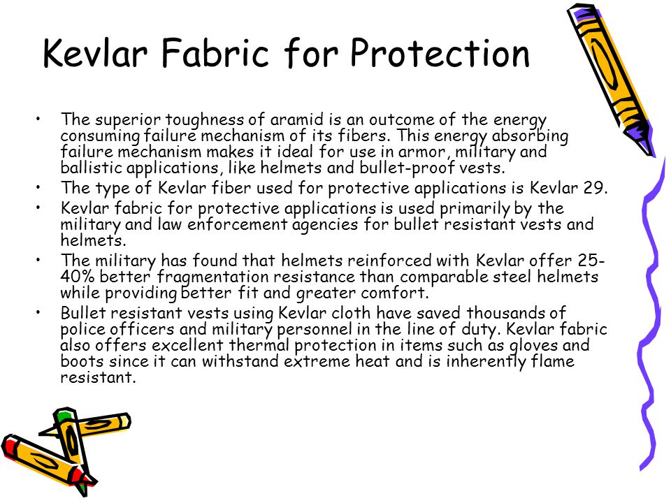 Kevlar Fabric for Protection