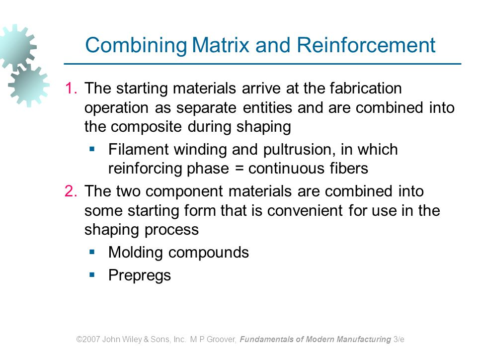 Combining Matrix and Reinforcement