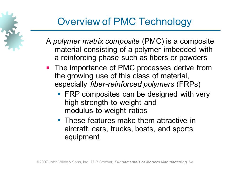 Overview of PMC Technology