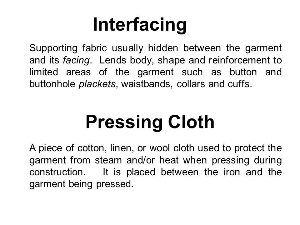 Interfacing Pressing Cloth