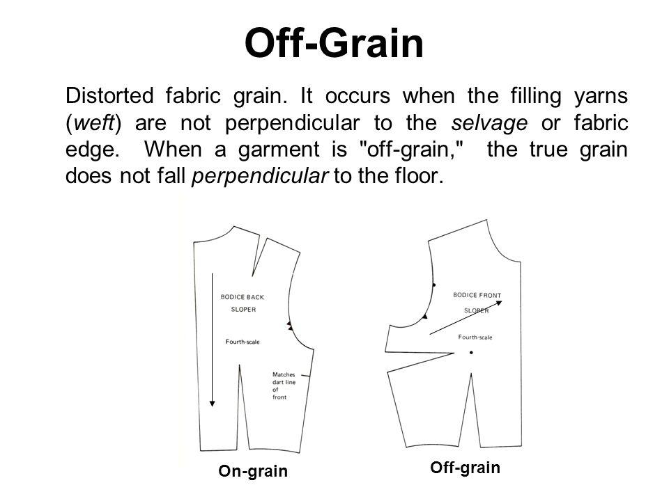 Off-Grain