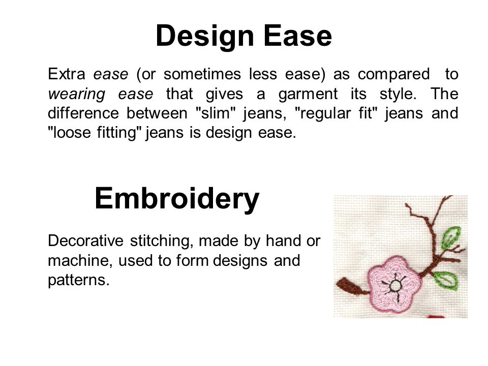 Design Ease Embroidery