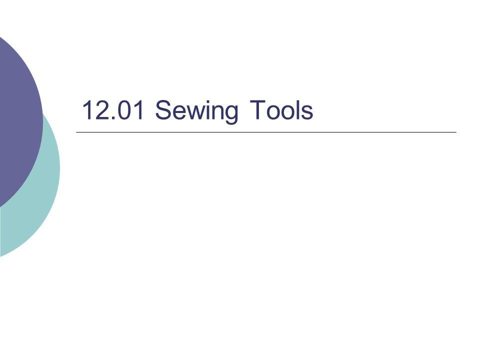 12.01 Sewing Tools
