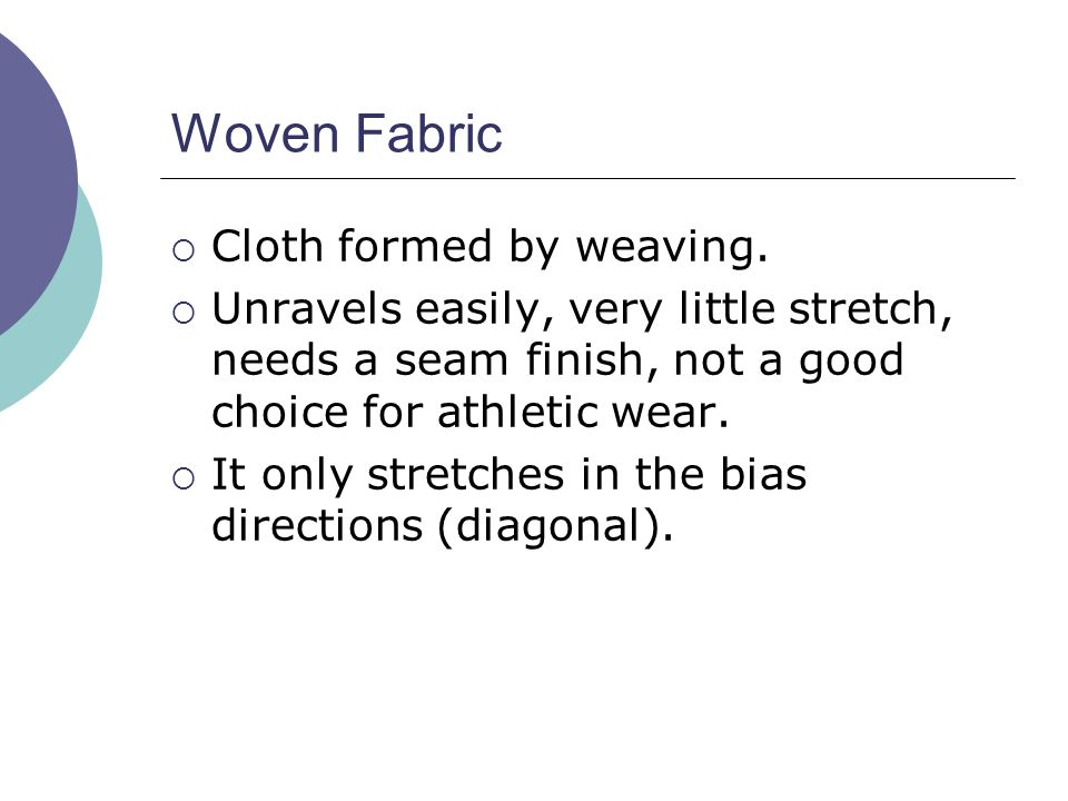 Woven Fabric Cloth formed by weaving.