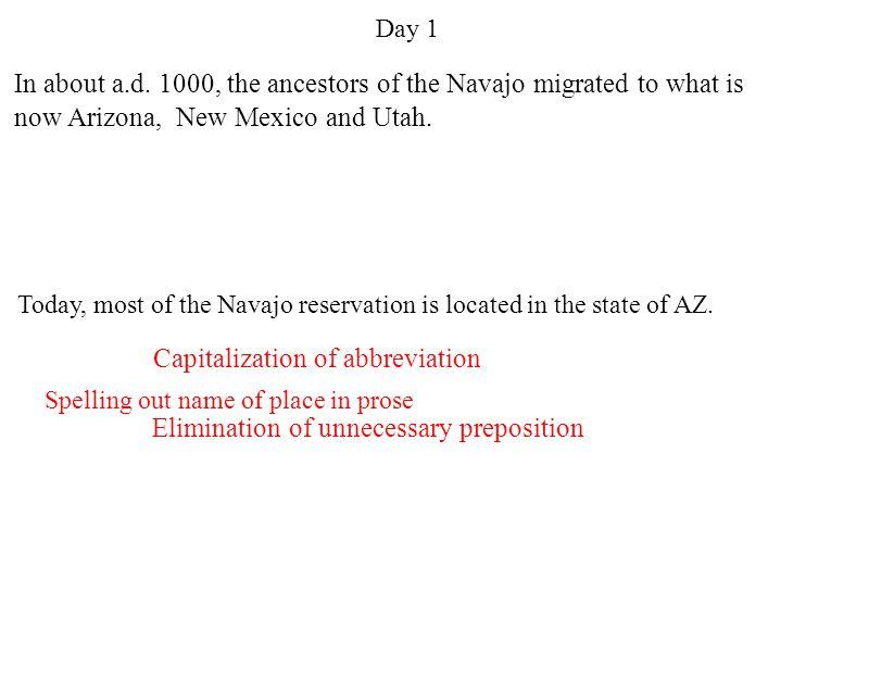 Capitalization of abbreviation