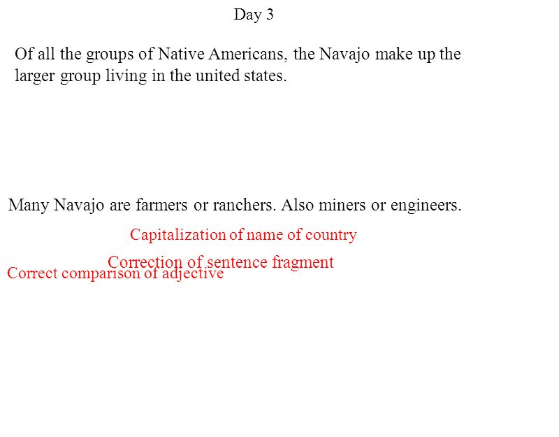 Many Navajo are farmers or ranchers. Also miners or engineers.
