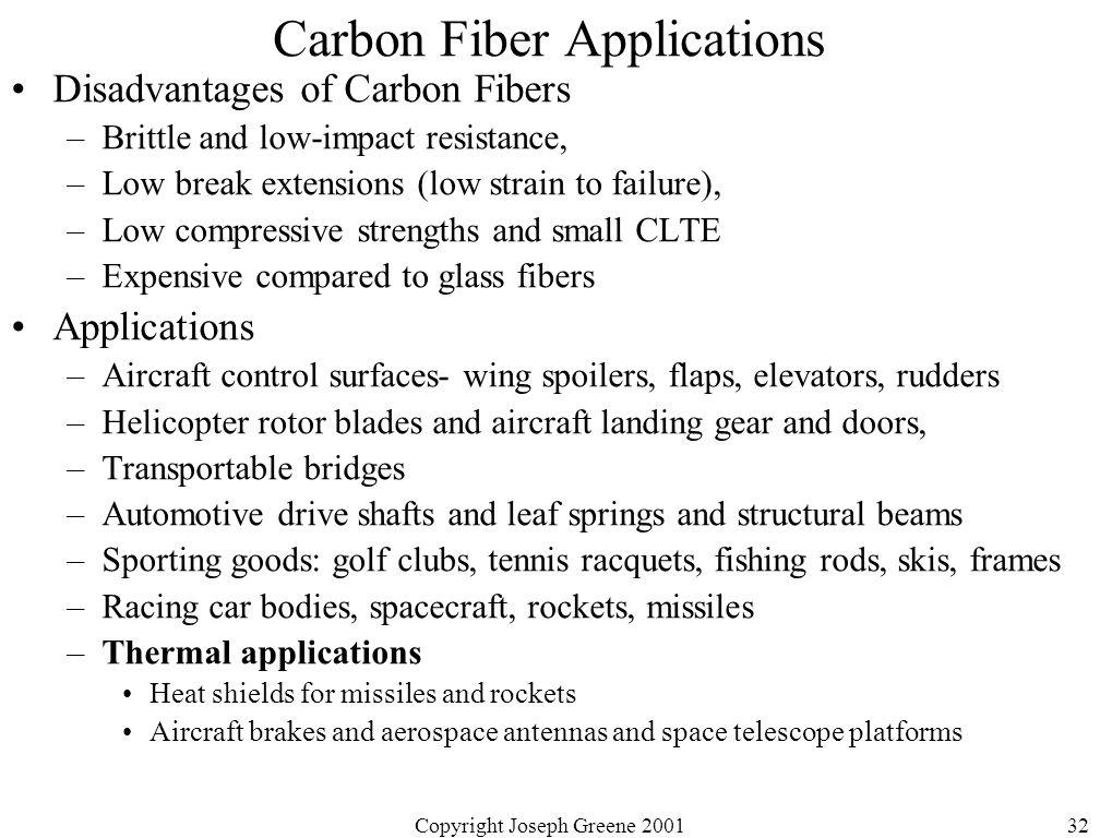 Carbon Fiber Applications