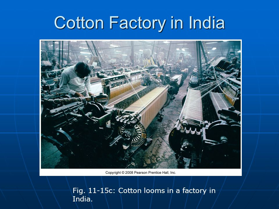 Cotton Factory in India