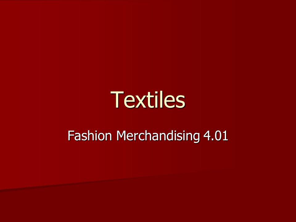 Fashion Merchandising 4.01