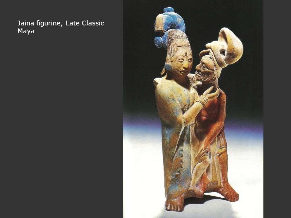Jaina figurine, Late Classic Maya