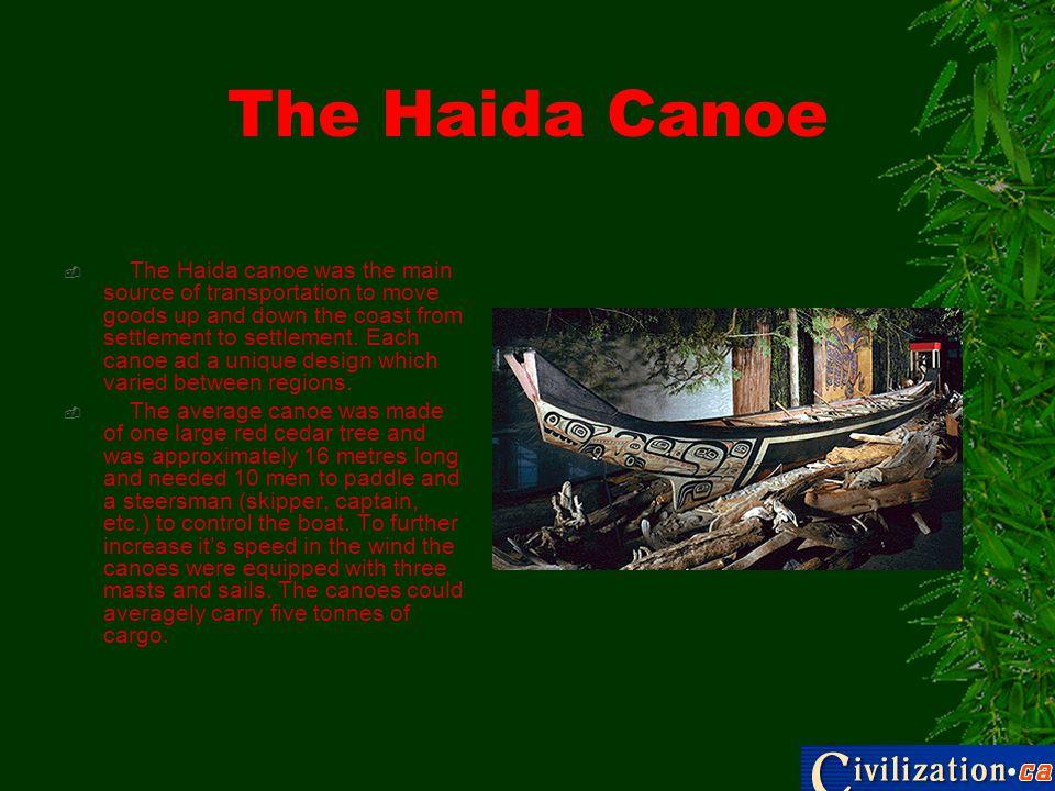 The Haida Canoe