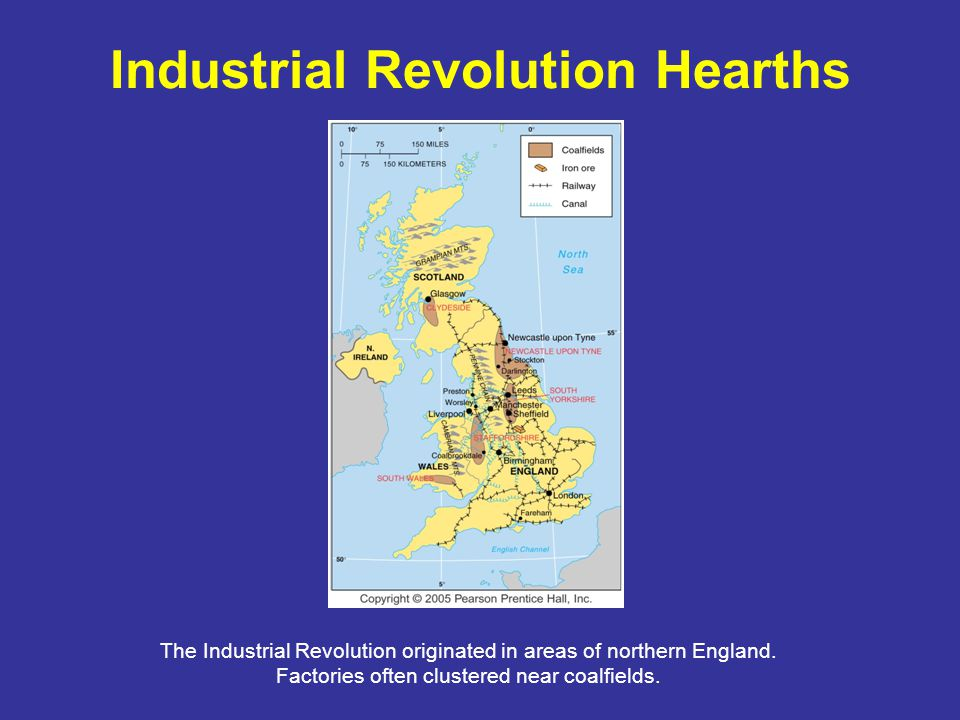 Industrial Revolution Hearths