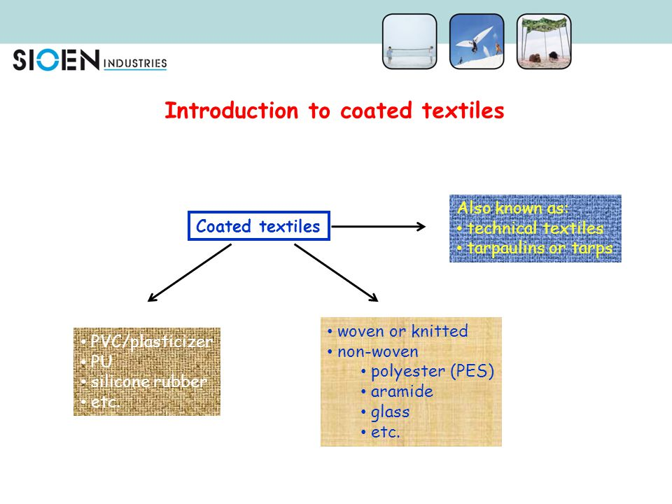 Introduction to coated textiles
