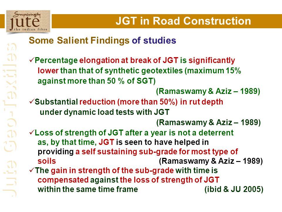 JGT in Road Construction