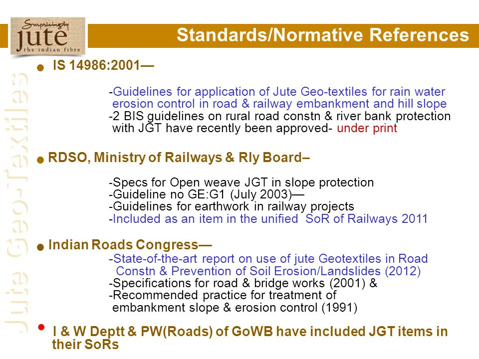 Standards/Normative References