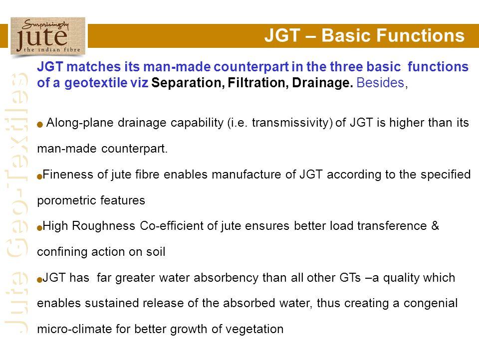 JGT – Basic Functions