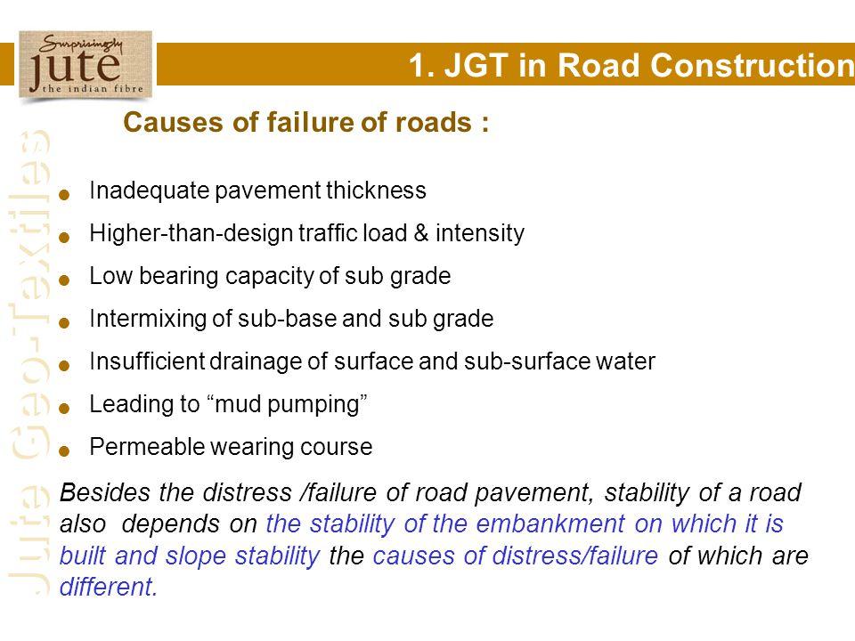 1. JGT in Road Construction