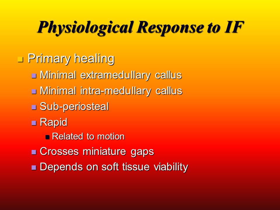 Physiological Response to IF