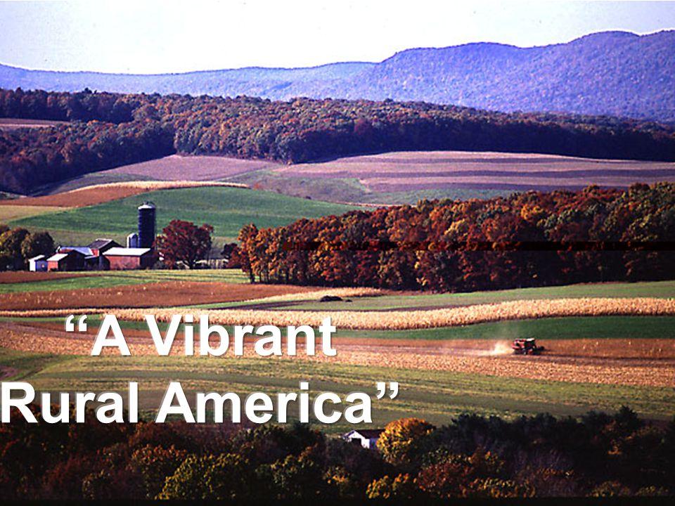A Vibrant Rural America