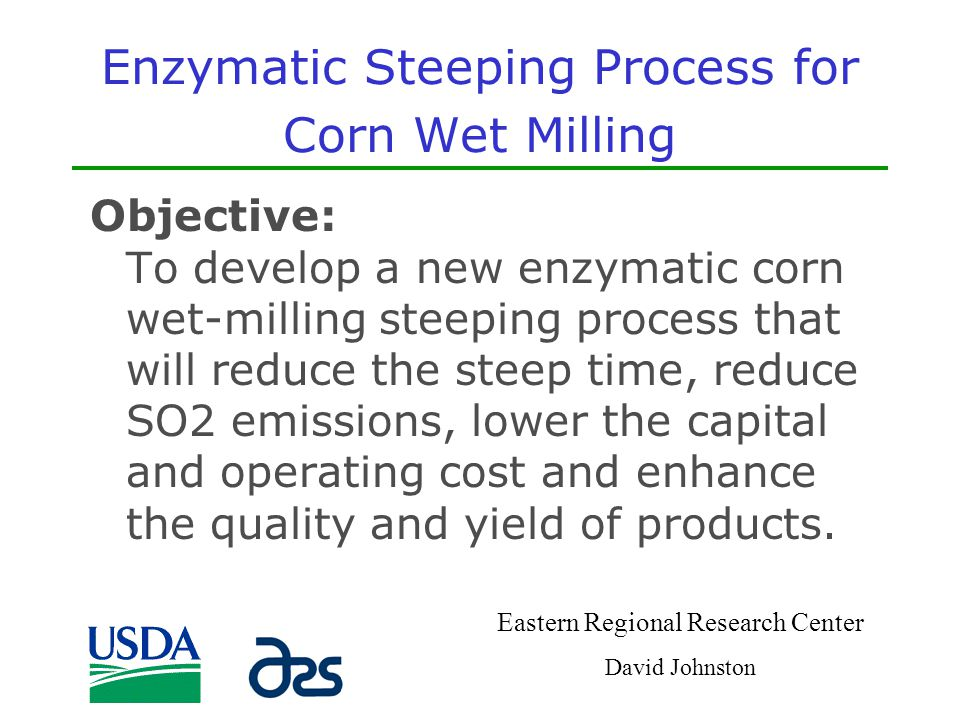 Enzymatic Steeping Process for Corn Wet Milling