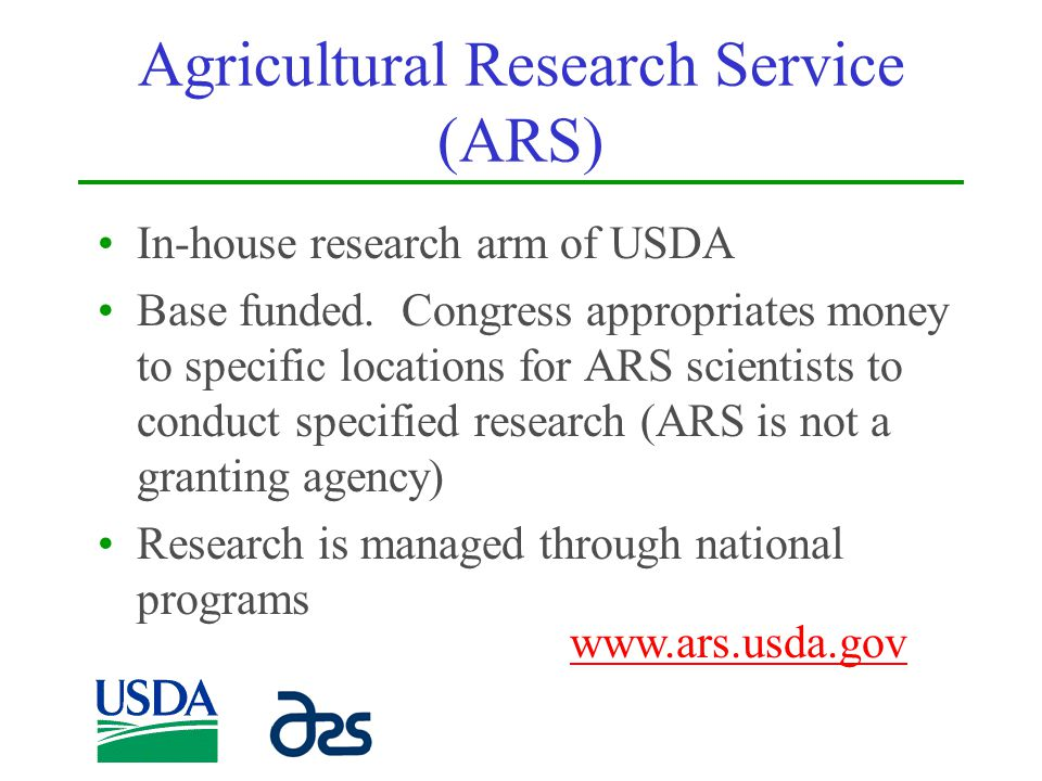 Agricultural Research Service (ARS)