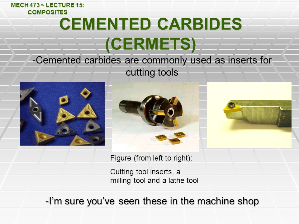 CEMENTED CARBIDES (CERMETS)