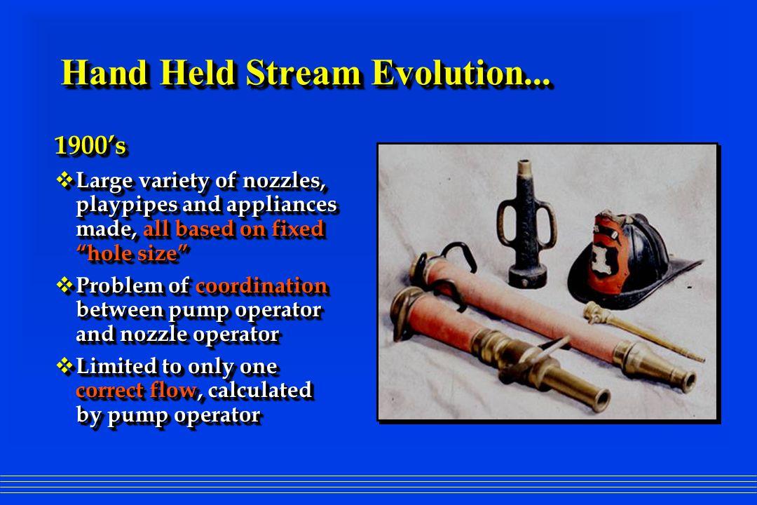 Hand Held Stream Evolution...