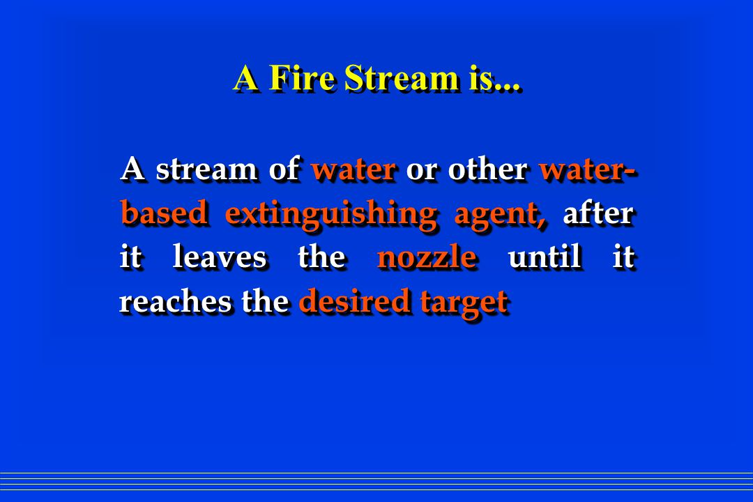 Task Force Tips, Inc. Firefighting Nozzles and Fire Hydraulics