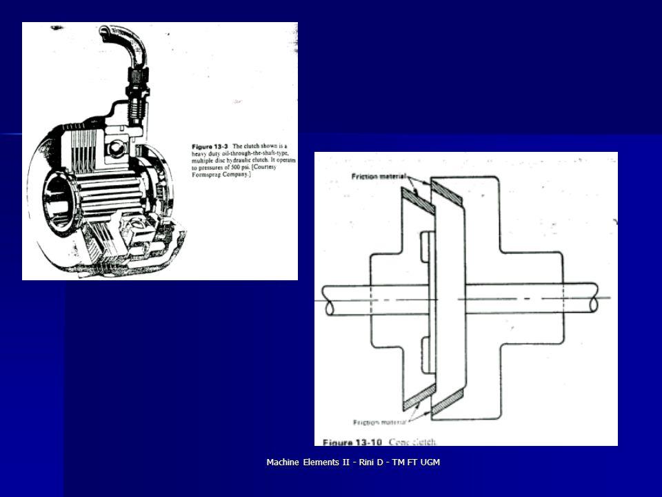 Machine Elements II - Rini D - TM FT UGM