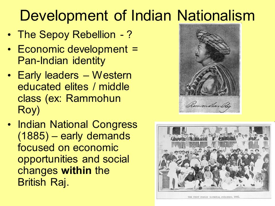 Development of Indian Nationalism