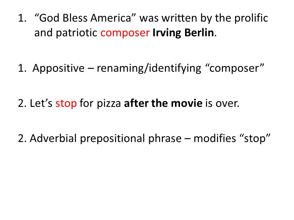 God Bless America was written by the prolific and patriotic composer Irving Berlin.