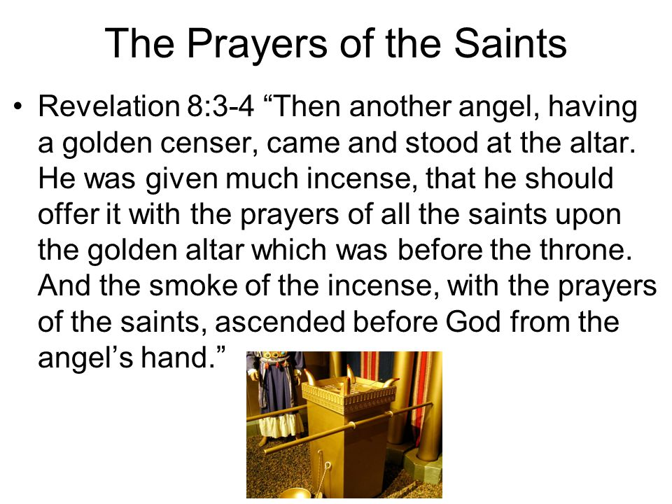 The Prayers of the Saints
