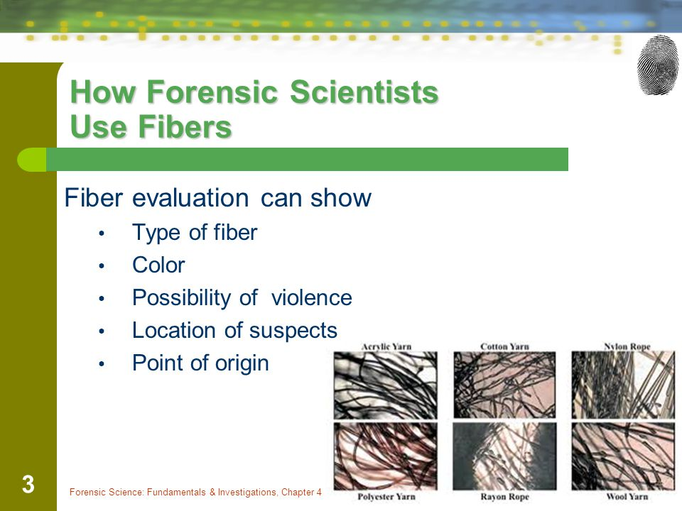 How Forensic Scientists Use Fibers