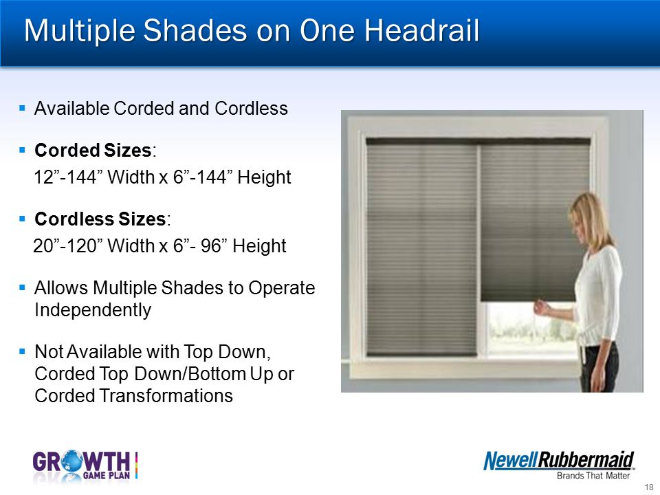 Multiple Shades on One Headrail