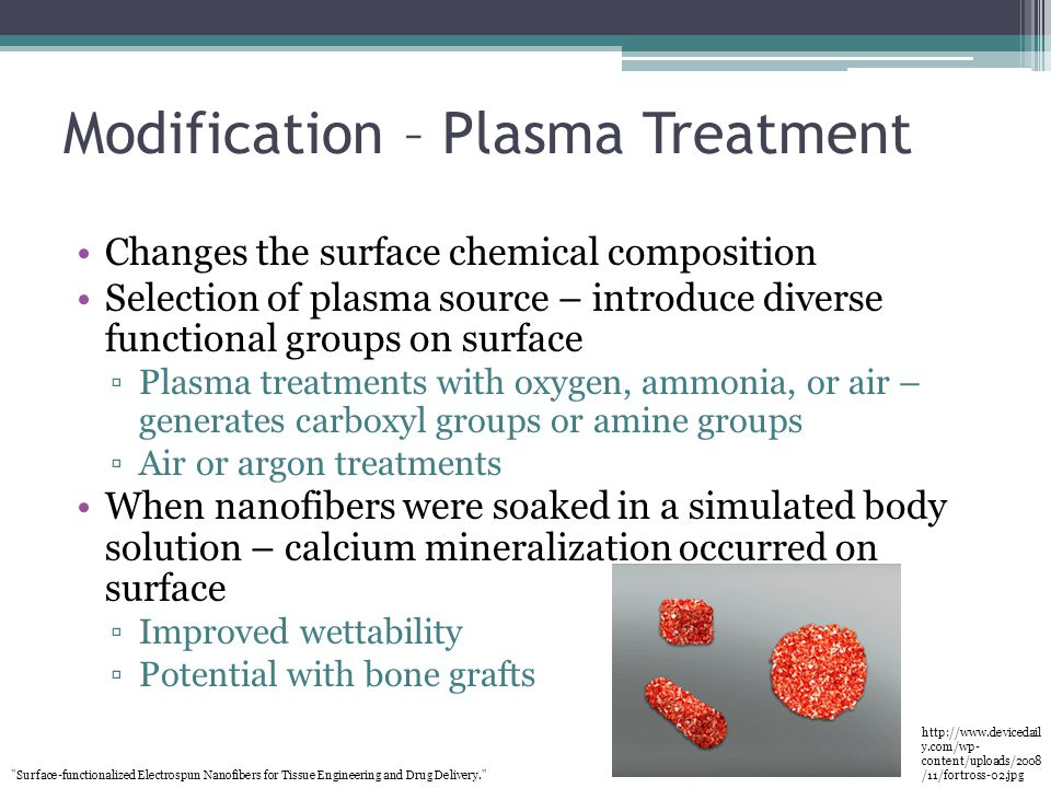 Modification – Plasma Treatment