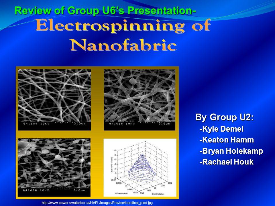 Electrospinning of Nanofabric