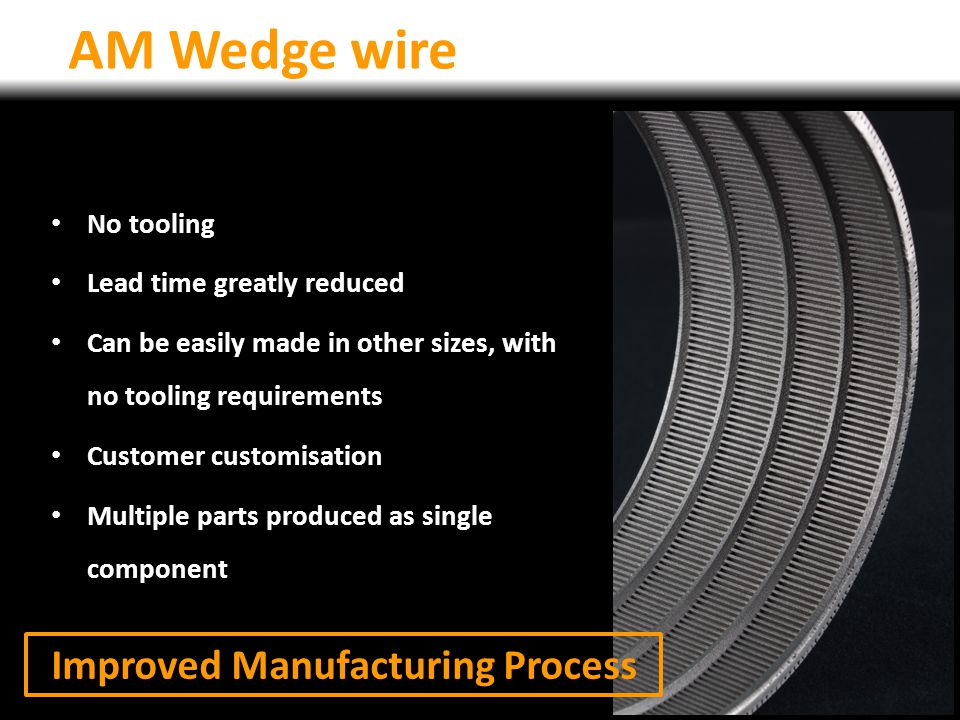 Improved Manufacturing Process