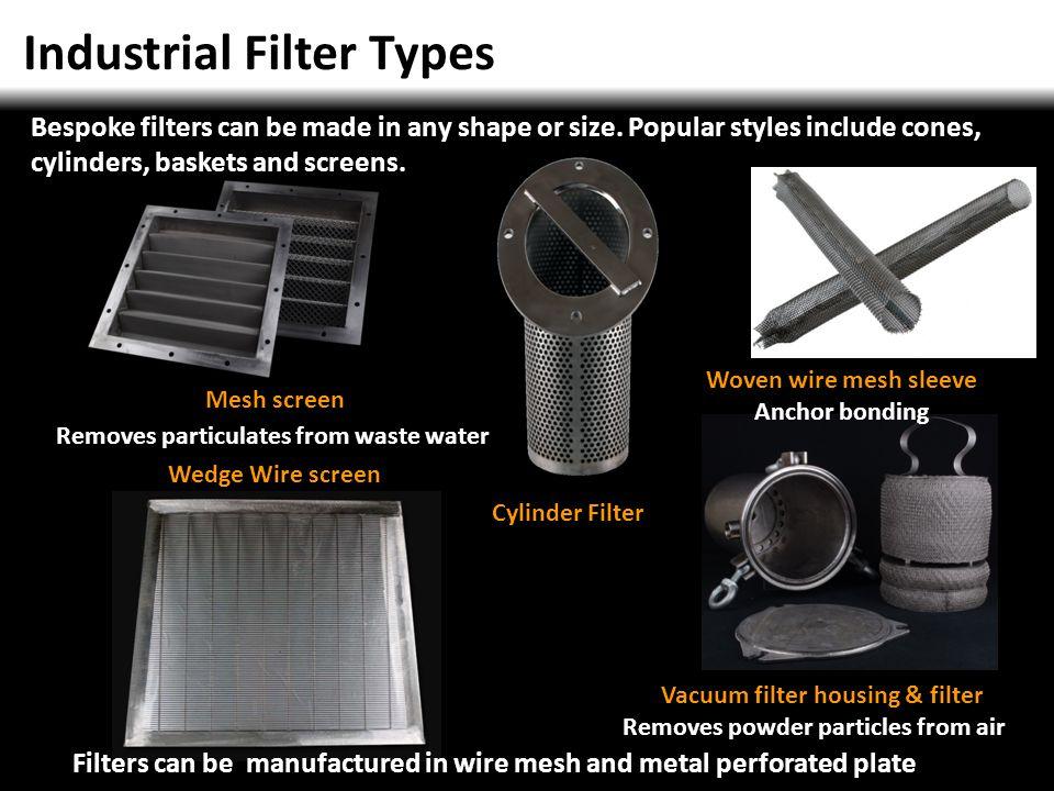 Vacuum filter housing & filter