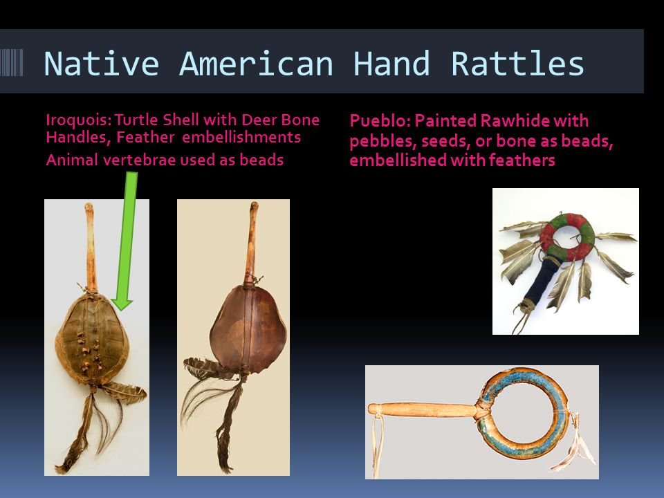 Native American Hand Rattles