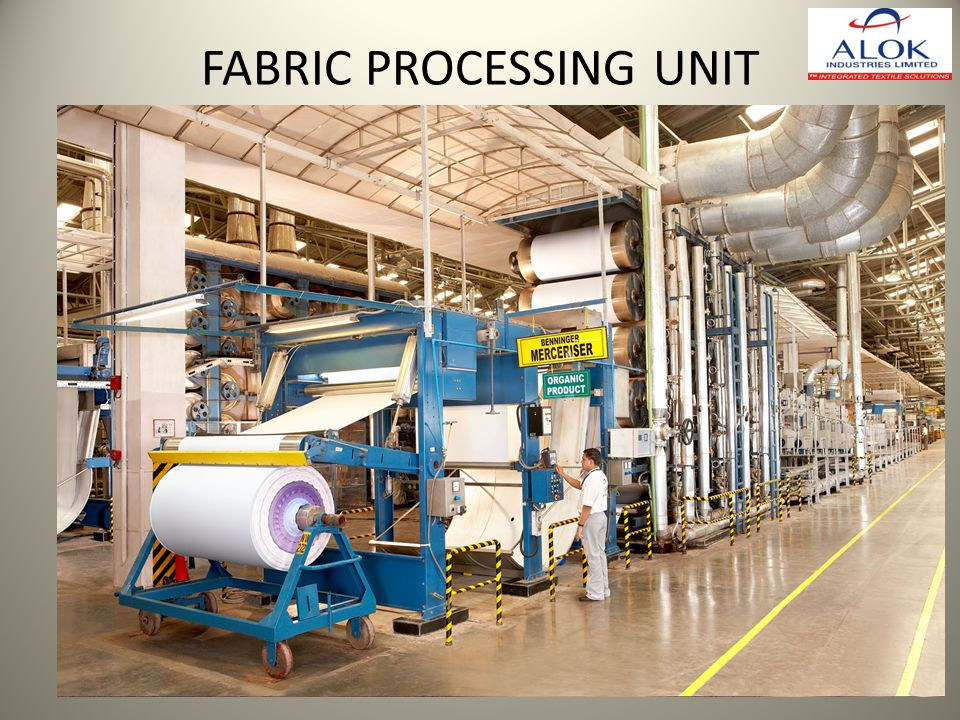 FABRIC PROCESSING UNIT