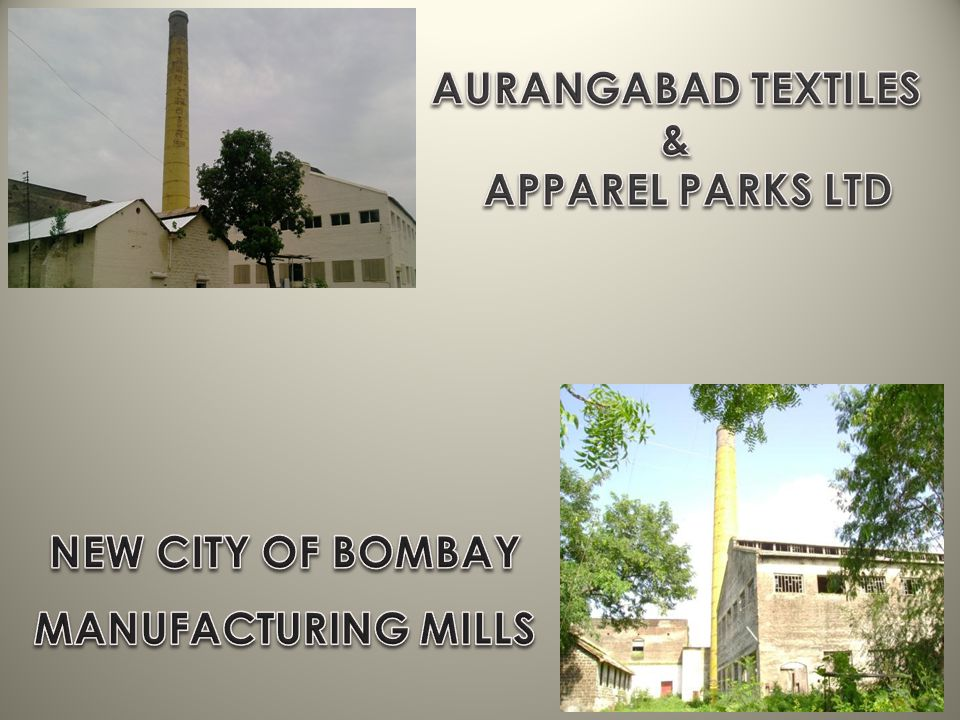 NEW CITY OF BOMBAY MANUFACTURING MILLS