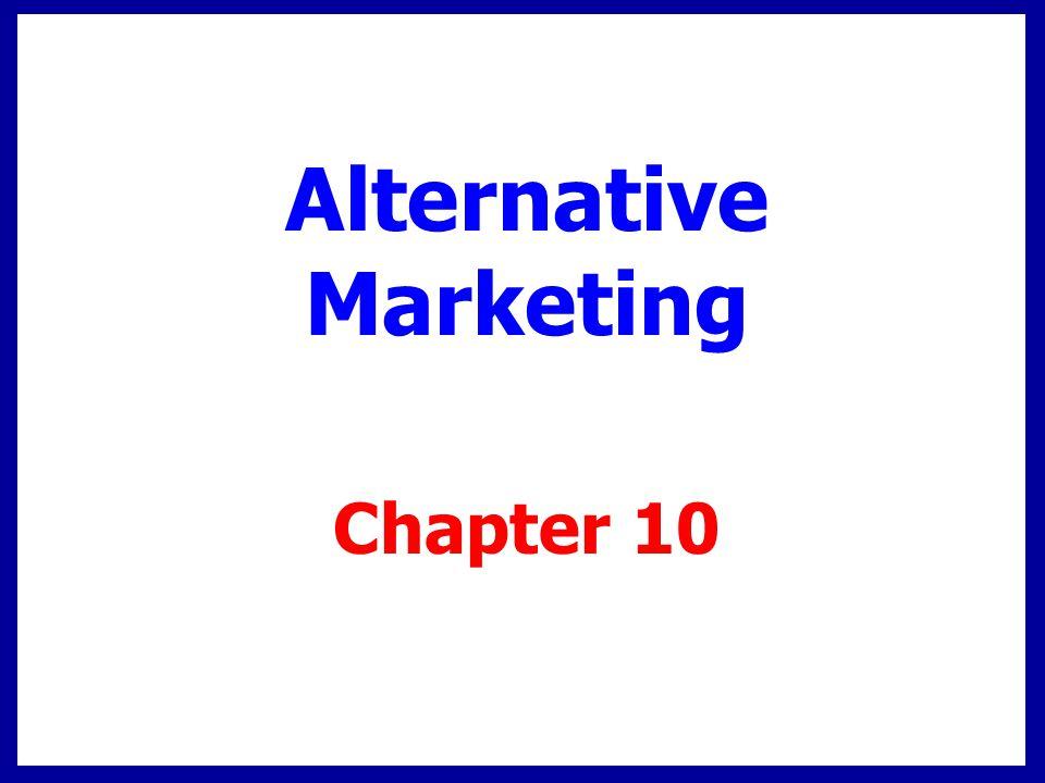 Alternative Marketing