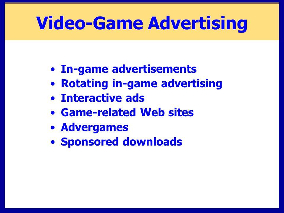 Video-Game Advertising
