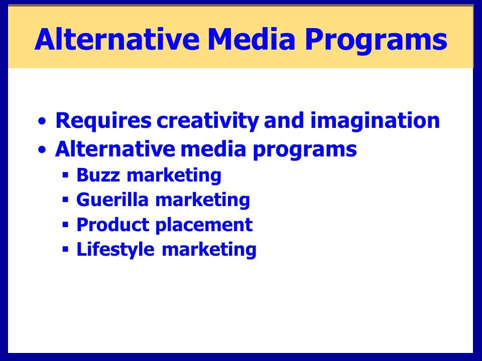 Alternative Media Programs