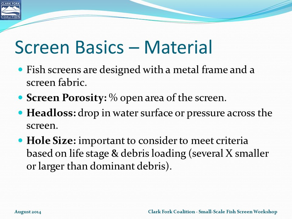Screen Basics – Material